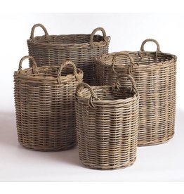 Napa Home and Garden Normandy Round Basket- Small