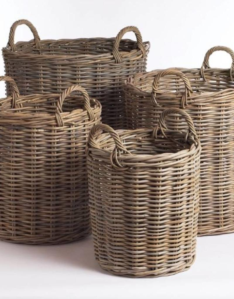Napa Home And Garden Normandy Round Basket  Small