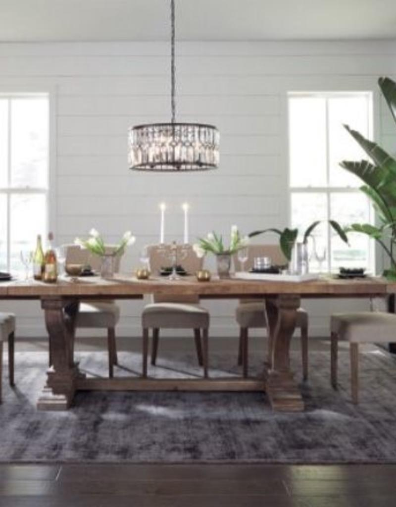 Classic Home Alexander Extended Dining Table Miller And Company Design