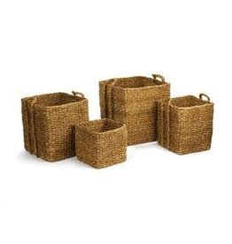 Napa Home and Garden Seagrass Apple Basket- Large