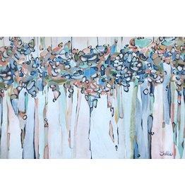 Trellis' Art Abstract 1/Dripping Effect