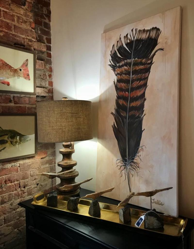 Trellis' Art Wild Turkey Feather