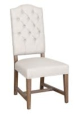 Classic Home Ava side Chair Beige/Camel