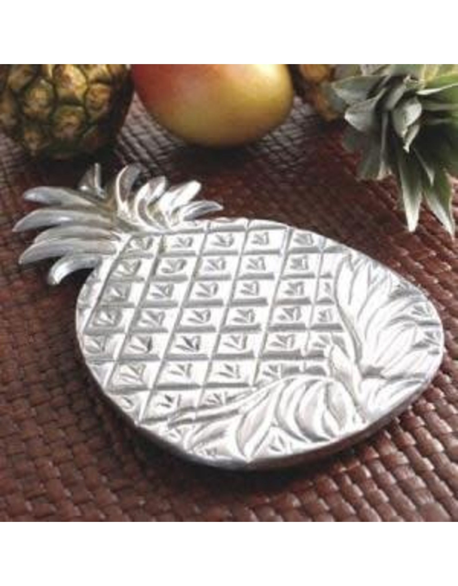 India Handicrafts Pineapple Trivet, 12