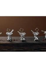India Handicrafts Bird Placecard Holder Asst 6,12