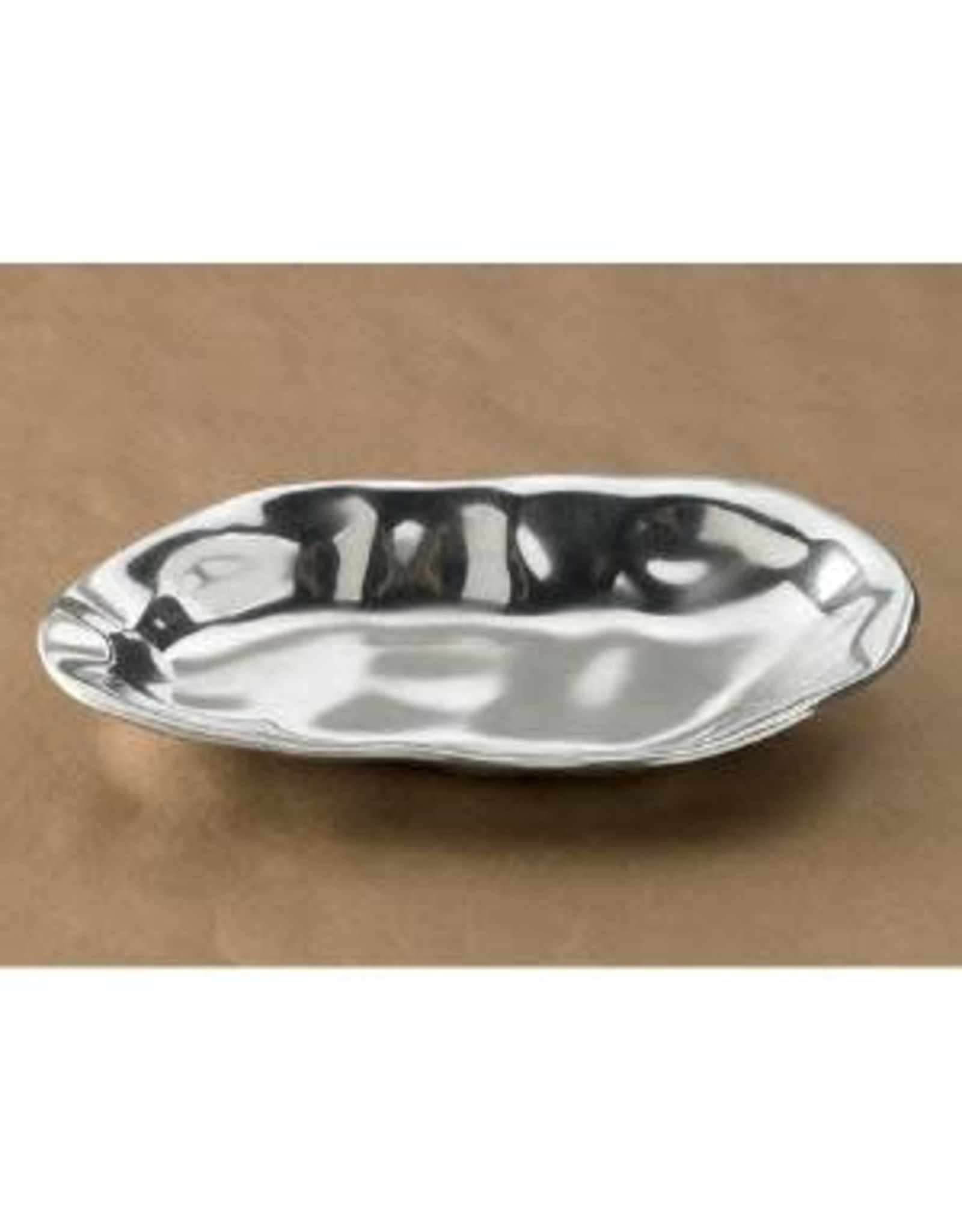 India Handicrafts Free Form Loaf Tray, 4