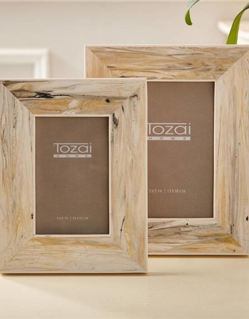 TOZAI Marble Photo Frames 4x6