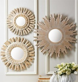TOZAI Sunburst Pickled Mirror- Small