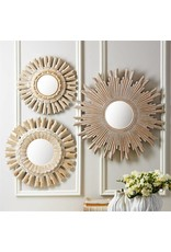 TOZAI Sunburst Pickled Mirrors- Large