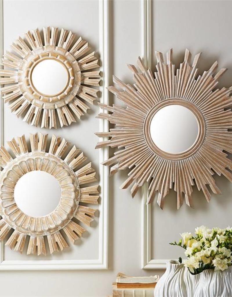 TOZAI Sunburst Pickled Mirrors- Large