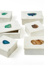 TOZAI Marble Rect Box three colors small
