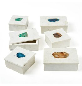 TOZAI Marble Rect Box three colors small