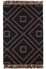 Dash and Albert Mali Black Indoor/ Outdoor Rug 2.5x8