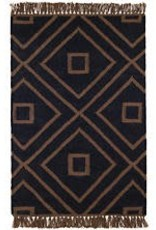 Mali Black Indoor /Outdoor Rug 3x5