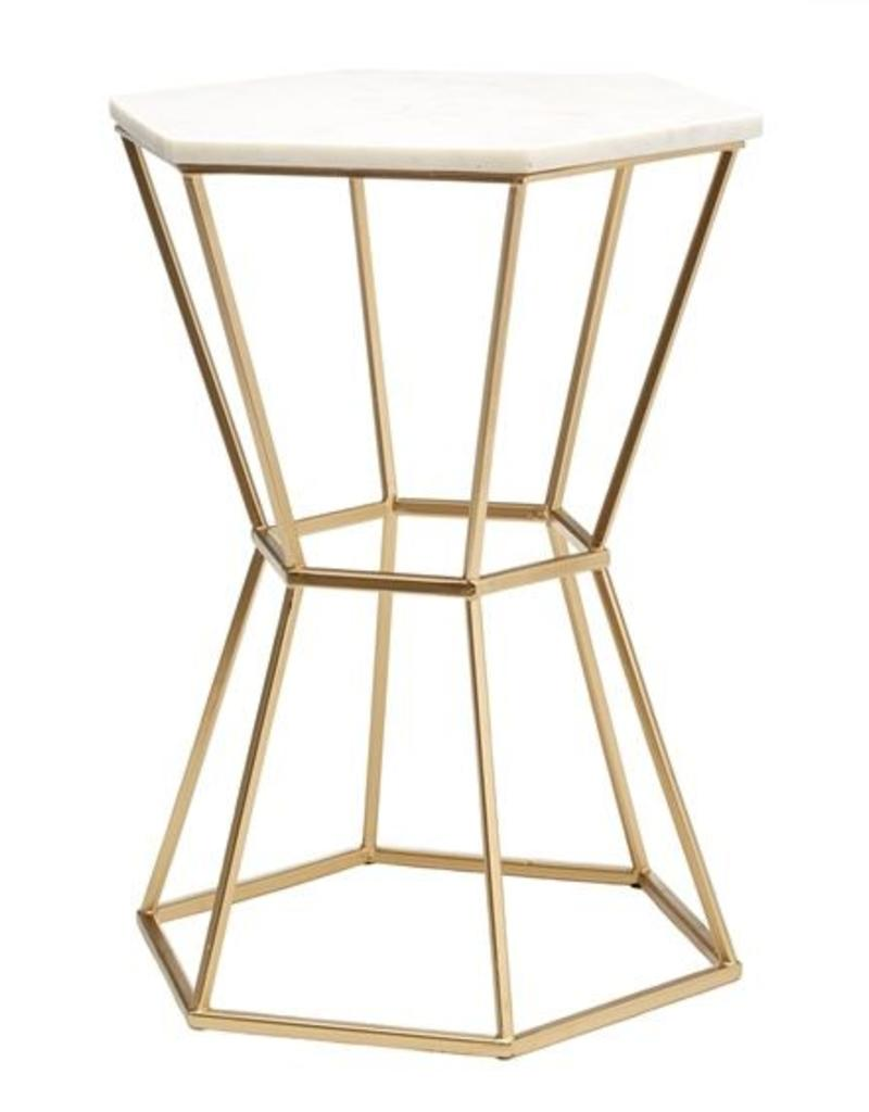 TOZAI Hexagonal marbel table