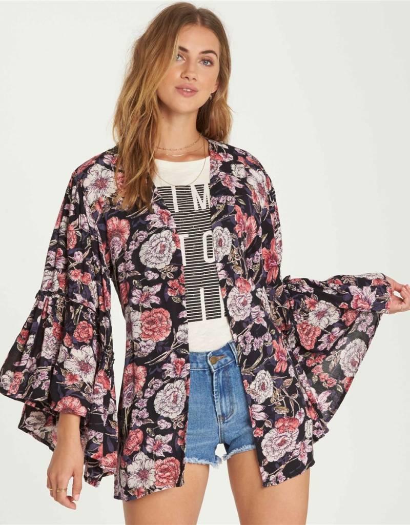 Billabong Billabong All Flored Kimono Top