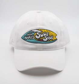 Old Naples Surf Shop ONSS Fisher Hat White