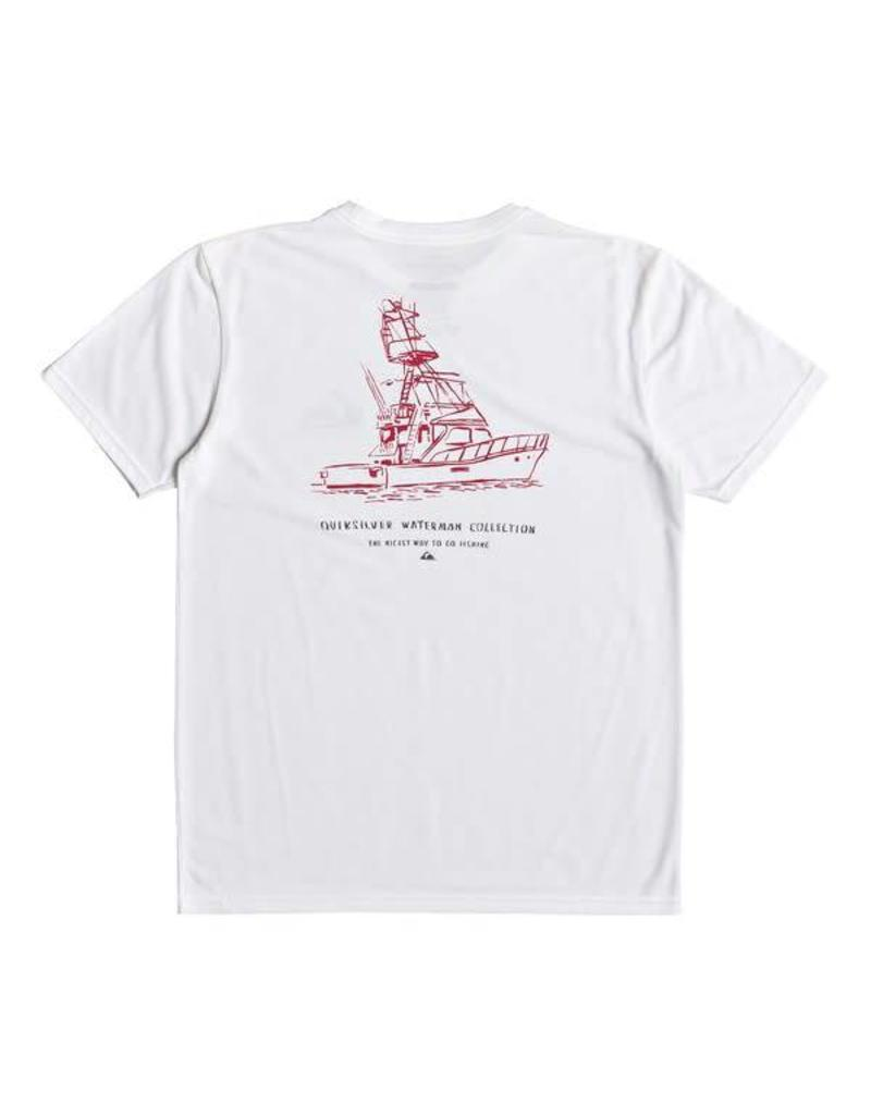 Quiksilver Quiksilver Waterman Nicest Way To Fish Technical Tee