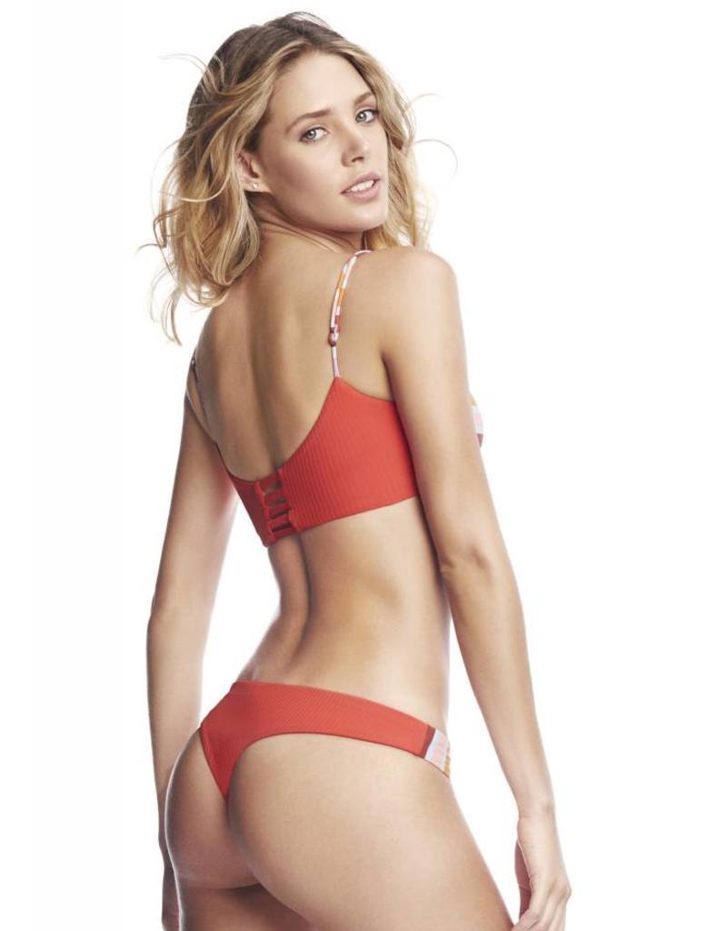 Maaji Maaji Stripes and Straps Fashion Bikini Top