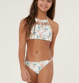 O'Neill O'Neill Girls Sunday Floral Revo Hi-Neck Swim Set