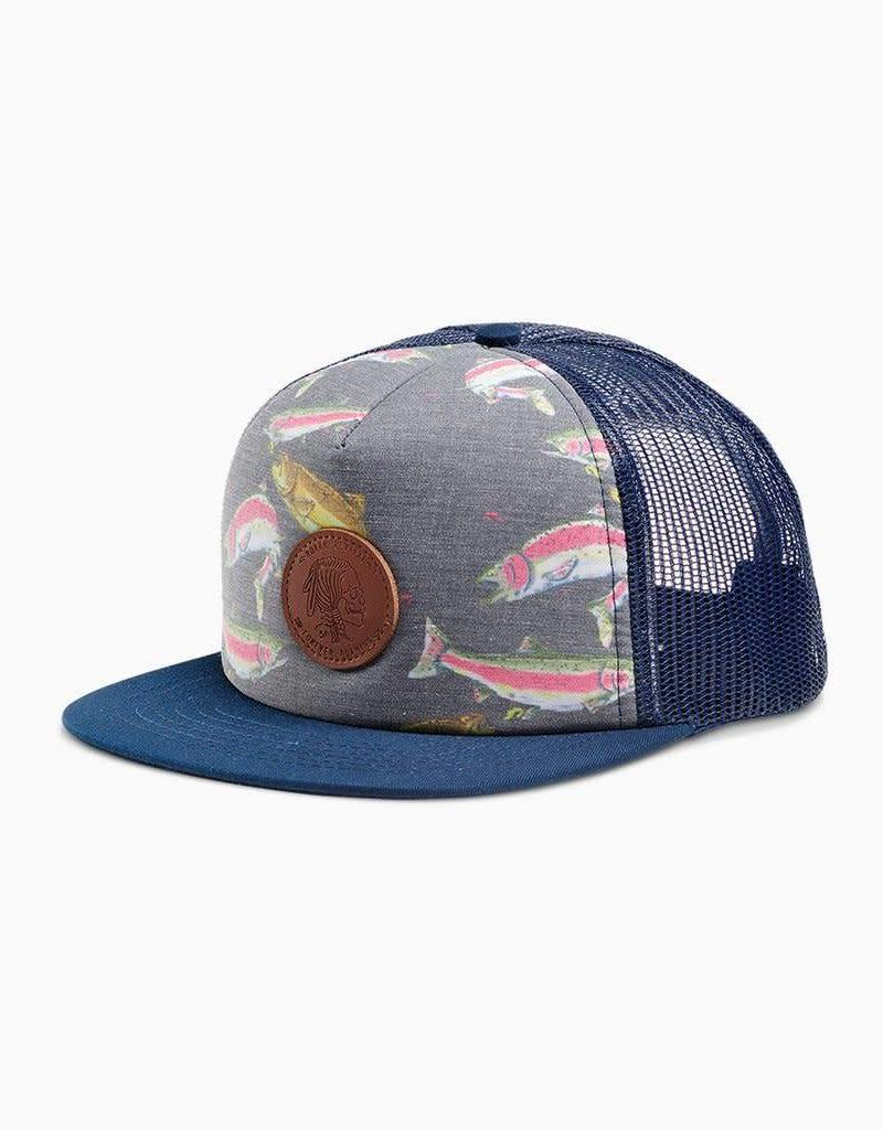 5c58c8f9ec2 Roark Hobo Nickel Trucker Snapback Hat - Old Naples Surf Shop - Old ...
