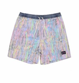 Rusty Resin Elastic Boardshort