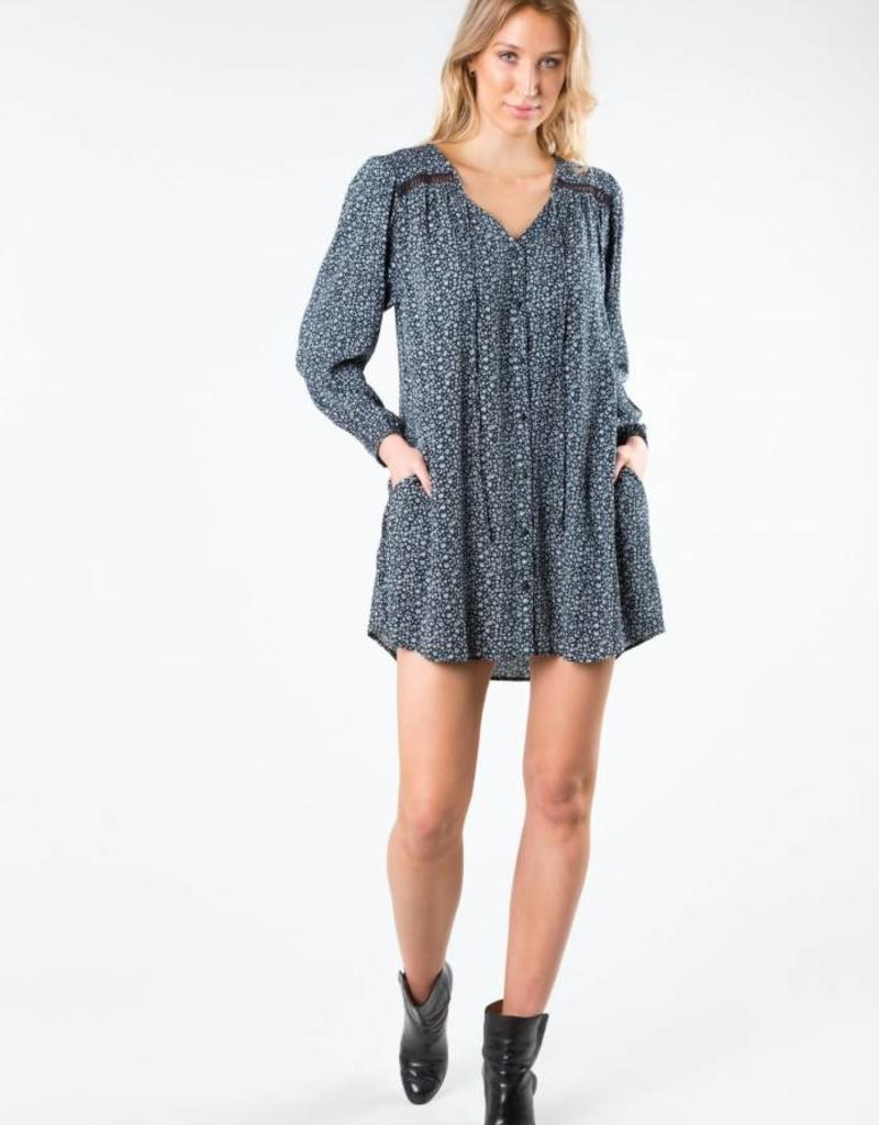 Rusty Rusty Posey Long Sleeve Dress
