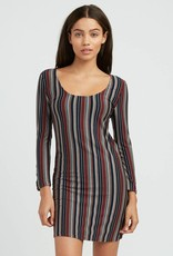 RVCA Tare Striped Dress