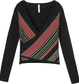 RVCA Tilted Wrap Sweater