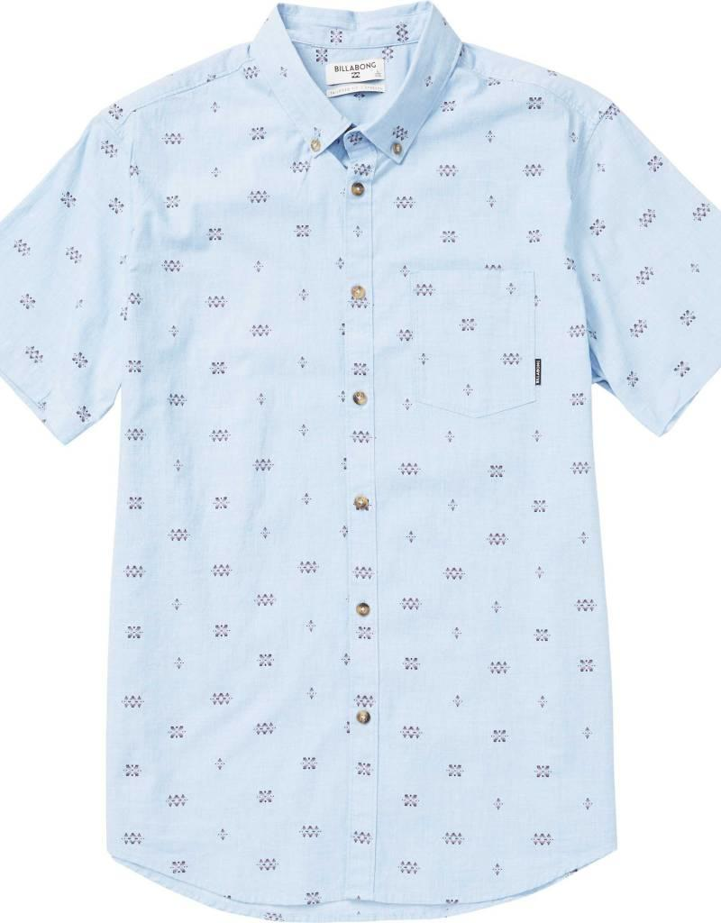 Billabong Billabong Sundays Mini Printed Short Sleeve Shirt
