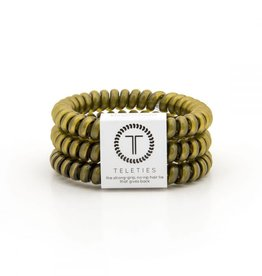 Teleties Teleties Olive Green 3 Pack - Small