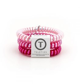 Teleties Teleties Think Pink 3 Pack - Small
