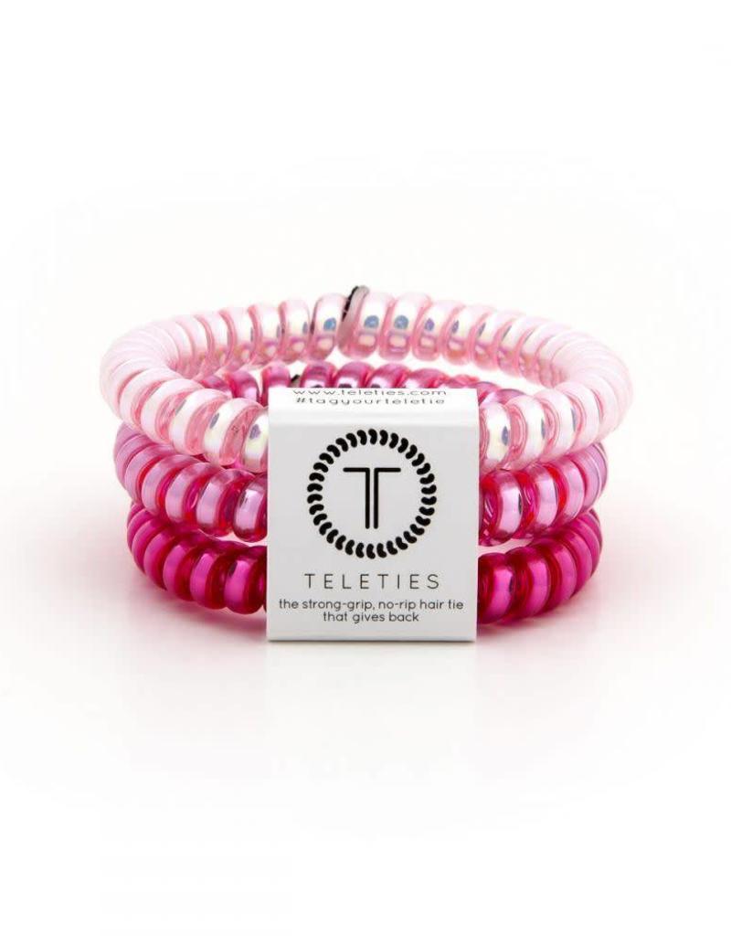 Teleties Teleties Think Pink 3 Pack - Small