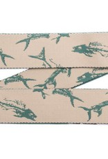 Arcade Rambler Belt - Dorado Green/Fish