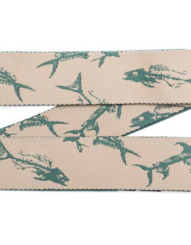 Arcade Belts Arcade Rambler Belt - Dorado Green/Fish