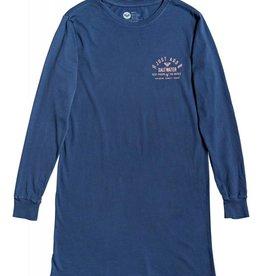 Roxy Roxy Saltwater Riders Long Sleeve T-Shirt Dress