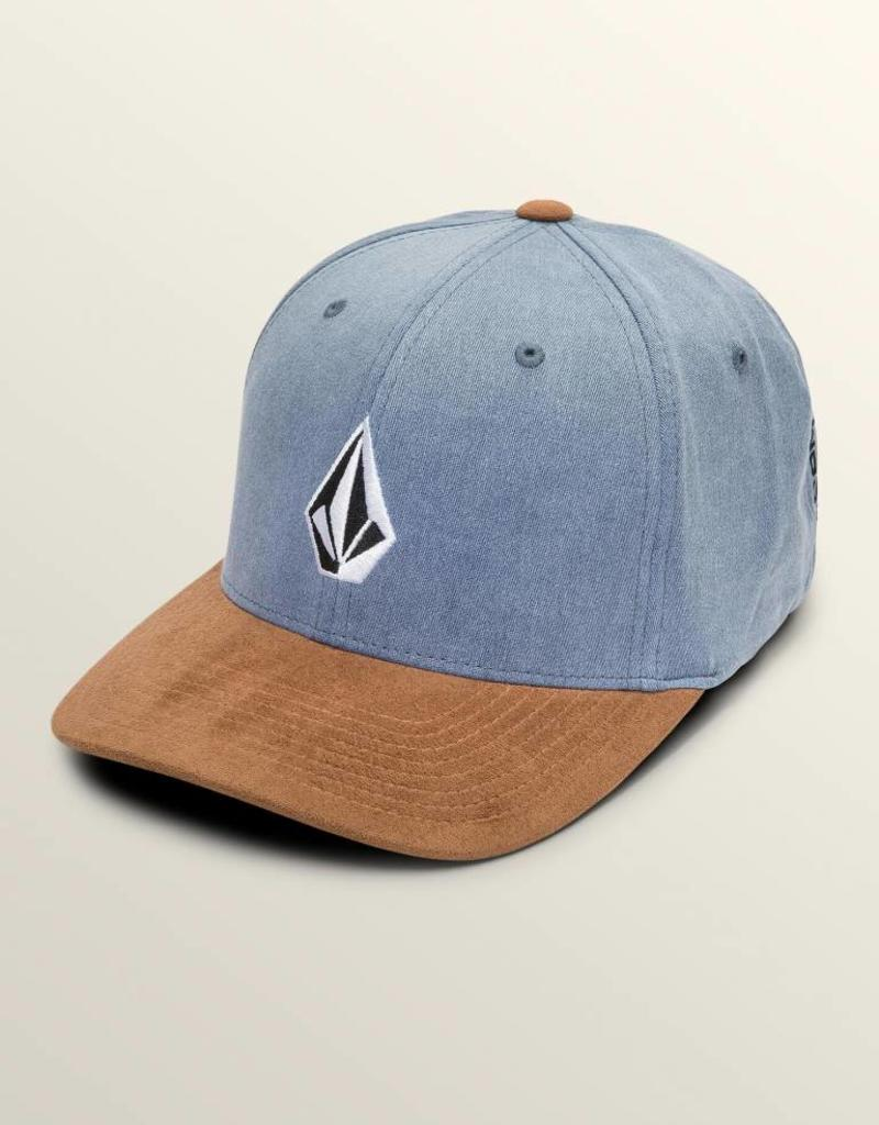 36160f0e255a0 Volcom Full Stone Heather Xfit Hat - Old Naples Surf Shop - Old ...