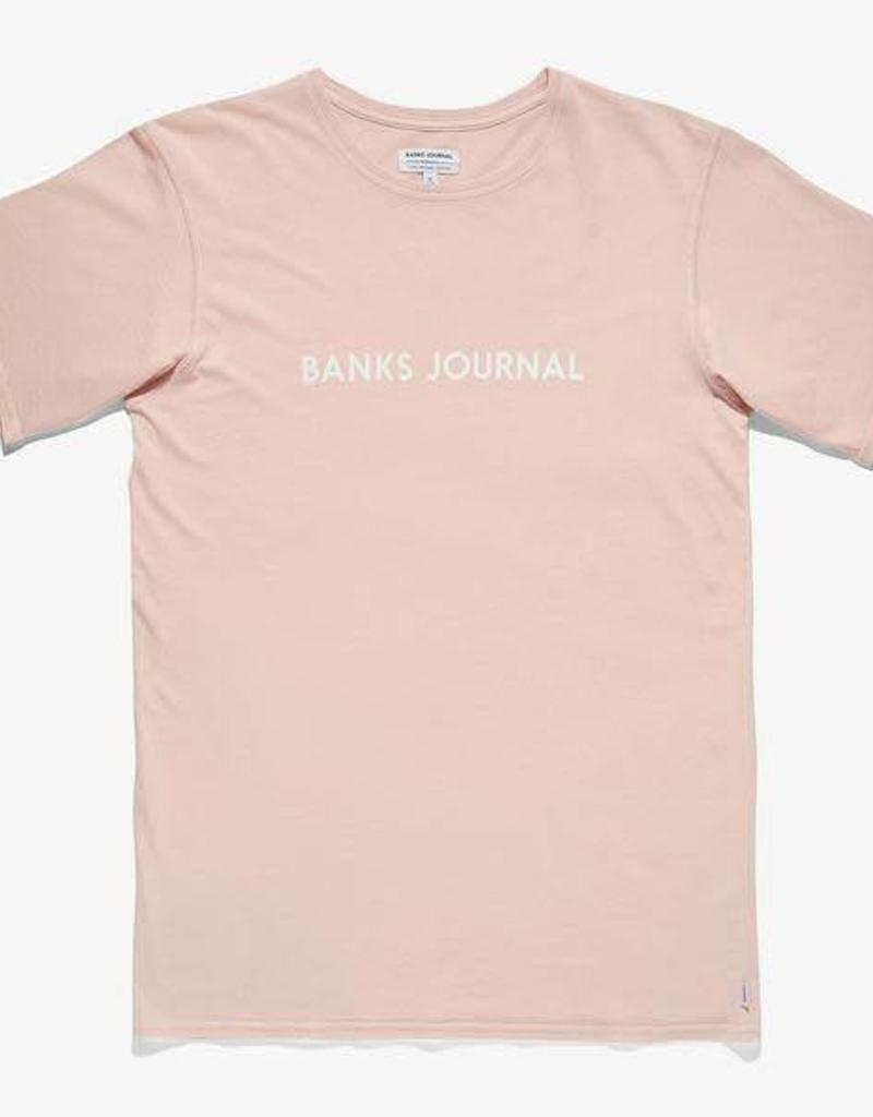 Banks Journal Banks Label Faded Tee
