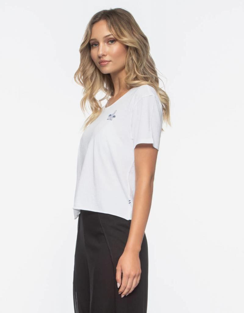 Tavik Tavik Bicoastal Short Sleeve Cropped Tee