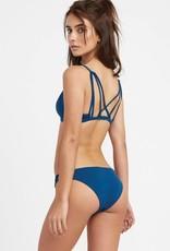 RVCA RVCA Solid Medium Loop Side Bikini Bottoms