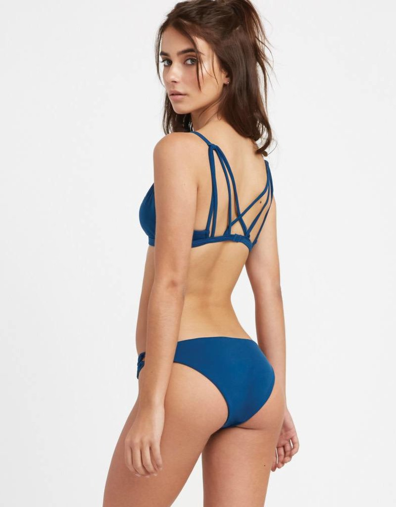 RVCA RVCA Solid Medium Loop Side Bikini Bottoms