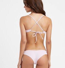 RVCA RVCA Solid Cheeky Bikini Bottoms