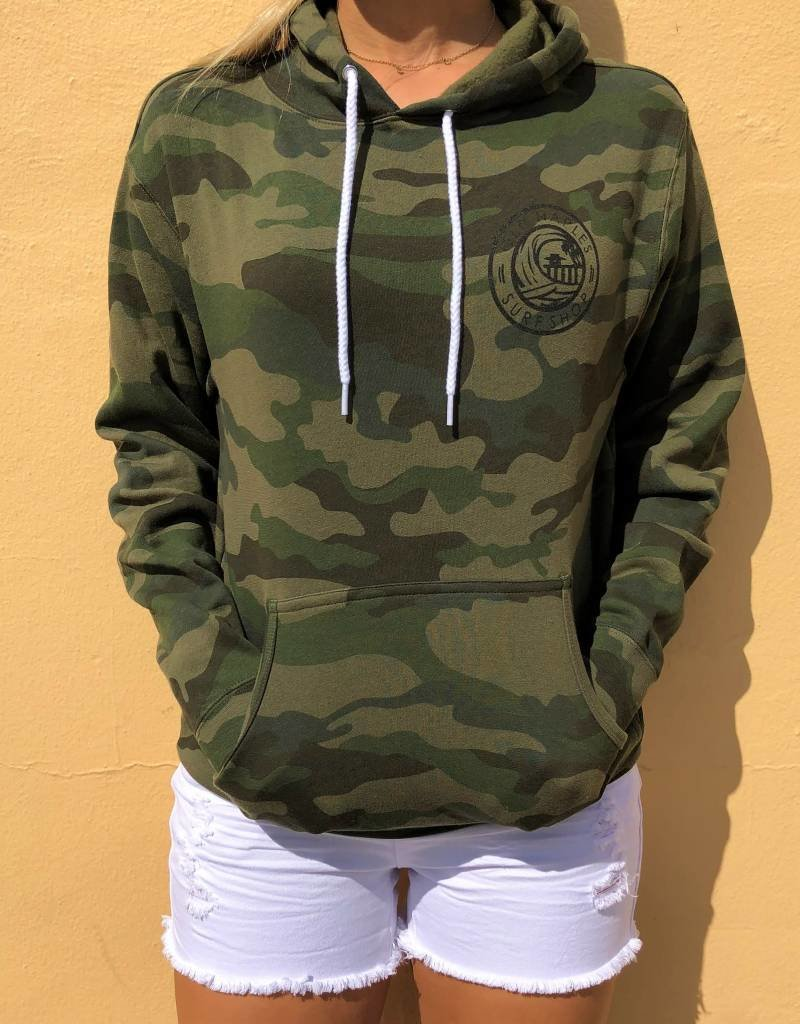 Old Naples Surf Shop ONSS Surf the Pier Hoodie