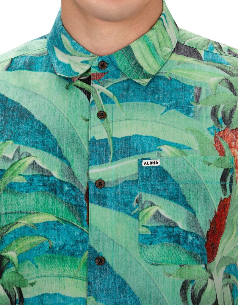 Hurley Hurley Mixtape Costa Rica Woven Top