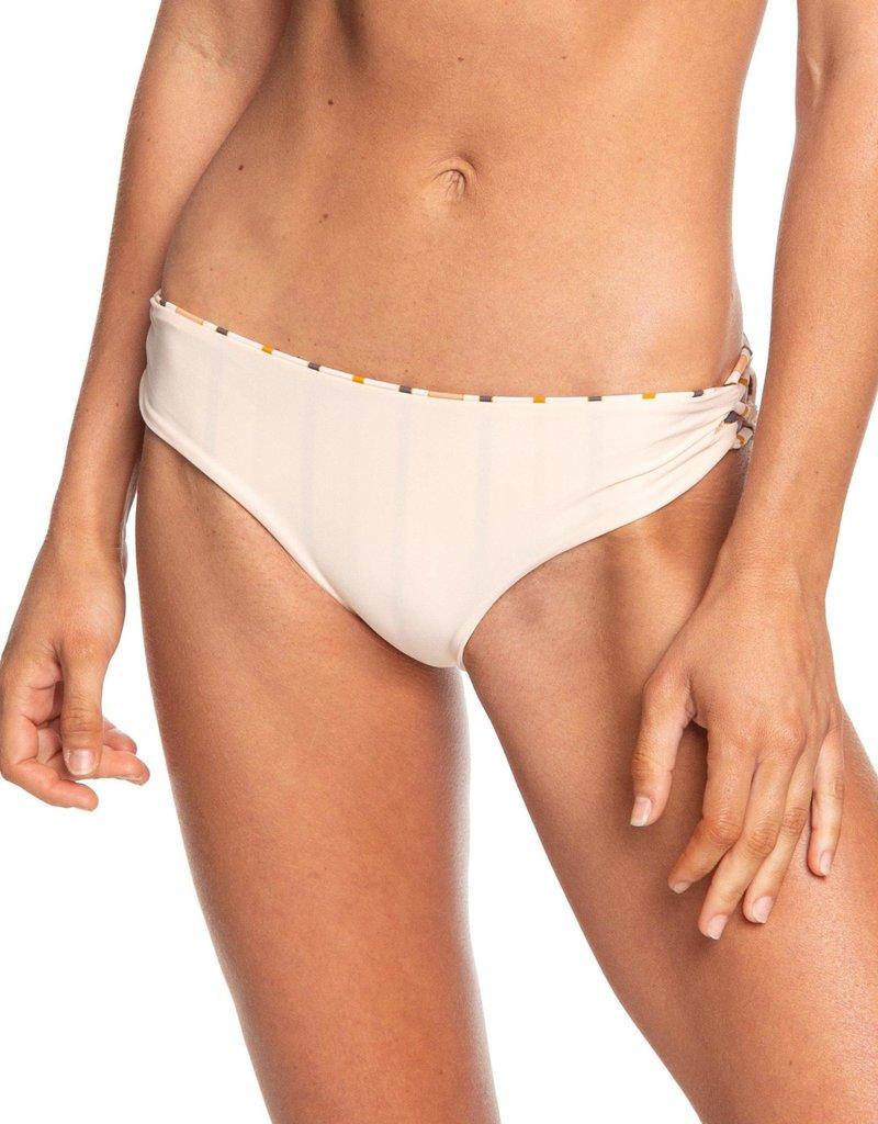 Roxy Roxy Softly Love 70's Lace Up Full Bikini Bottoms