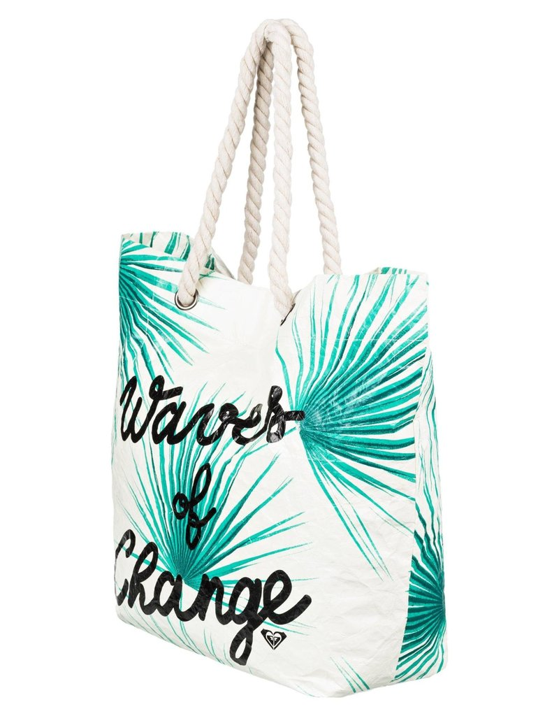 Roxy Roxy Waves Of Change Reversible Recycled Beach Bag