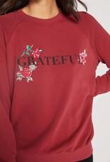 Spiritual Gangster Spiritual Gangster Grateful Classic Crew Sweatshirt