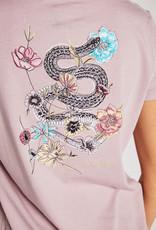 Spiritual Gangster Spiritual Gangster Snake Aurora Boxy Crew T-Shirt