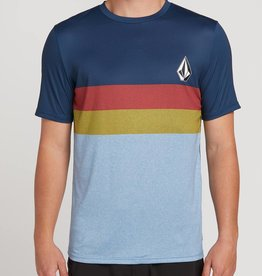 Volcom Volcom Lido Heather Block Short Sleeve Rashguard