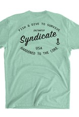 Saltwater Syndicate Saltwater Syndicate Hardened to the Core Tee
